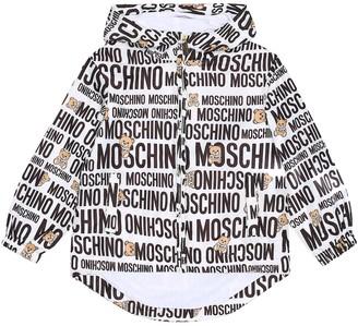 MOSCHINO BAMBINO Logo jacket