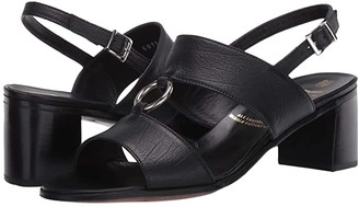 Gravati Sandal with Metal Ring (Black) Women's Shoes