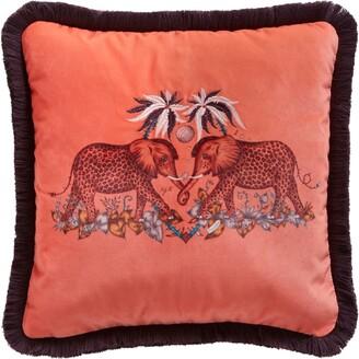 Emma J Shipley Zambezi Square Cushion (40Cm X 40Cm)
