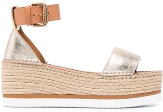See by Chloe Flatform Espadrille Sandals