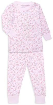 Kissy Kissy Baby's & Little Girl's 2-Piece Dusty Rose Print Pajama Set