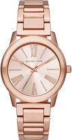 Michael Kors MK3491 rose gold-plated stainless steel watch