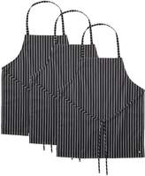 Dickies Chef 3 Pack No Pocket Bib Apron
