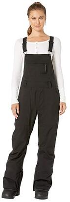 Burton Avalon Bib Pants (True Black) Women's Clothing