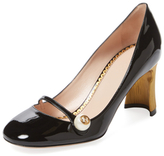 Gucci Patent Leather Mary Jane Pump