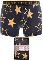 Tommy Hilfiger Golden Stars Logo Trunks Navy