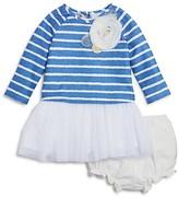 Pippa & Julie Girls' Striped Sweater, Tutu Tunic & Bloomers Set - Baby