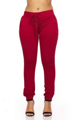 YDX Women's Twill Stretchy Jogger Pants