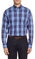 Tailorbyrd Men's Big & Tall Delcambre Plaid Twill Sport Shirt