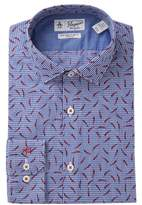 Original Penguin Chili Pepper Print Slim Fit Shirt