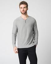 Le Château Cotton Slub Henley Sweater