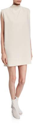 Rachel Comey Ellis Mock-Neck Sleeveless Shift Dress