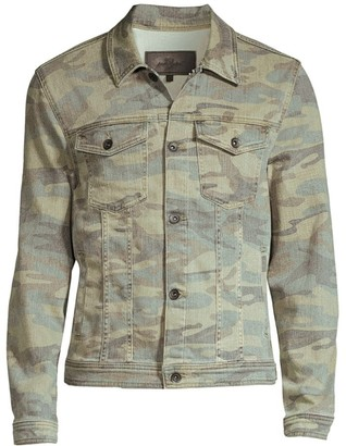 7 For All Mankind Camo Jacket