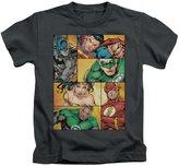 Justice League DC Comics Hero Boxes Little Boys T-Shirt Tee