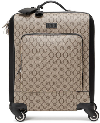 Gucci Gg Supreme Carry-On In Brown in Brown | FWRD
