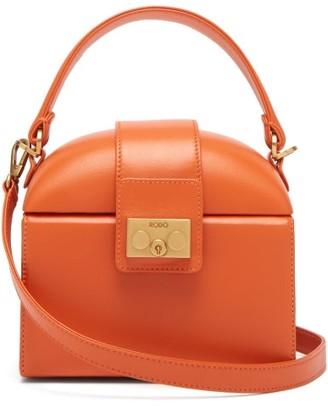 Rodo Trunk Leather Cross-body Bag - Womens - Orange