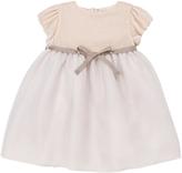 Marie Chantal Mini Blush Velvet Dress