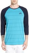 Nike SB Dri-FIT Stripe Baseball T-Shirt