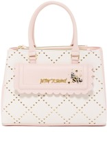 Betsey Johnson Laser Cut Satchel