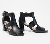 Clarks Collection Leather Heeled Sandals - Deva Heidi