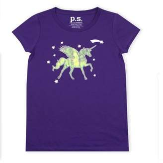 Aeropostale P.S.09 From p.s.09 from Embellished Sequin Graphic T-Shirt (Little Girls & Big Girls)