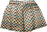 Missoni zig zag pleated shorts