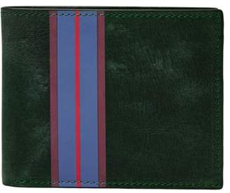 Fossil Hans Bifold With Flip Id Wallets Spruce