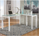 Signature Design by Ashley Baraga L-Shaped Desk