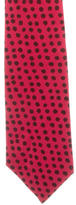 Hermes Dot Print Silk Tie