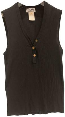 Hermã ̈S HermAs Black Viscose Knitwear