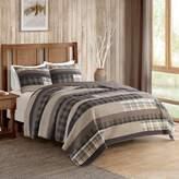 Woolrich 3-piece Winter Plains Plaid Quilt Set