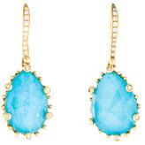 Frederic Sage Tivoli Turquoise & Diamond Earrings