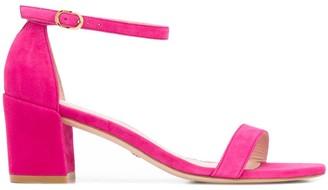 Stuart Weitzman Simple suede 60mm sandals