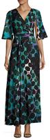 Tracy Reese Wrap Kimono Maxi Dress