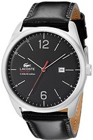 Lacoste Men's 2010748 Austin Analog Display Japanese Quartz Black Watch