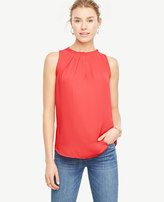 Ann Taylor Petite Pleated Shell