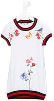 MonnaLisa floral print T-shirt dress