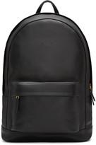 Pb 0110 Black Leather CA 6 Backpack