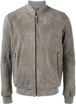Lot 78 Lot78 - classic bomber jacket - men - Cotton/Suede - 48