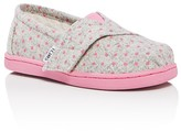 Toms Girls' Seasonal Classic Polka Dot Flats - Toddler