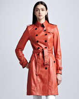 Burberry Lightweight Leather Trenchcoat