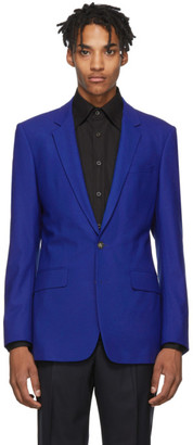 Kenzo Blue Slim Formal Blazer