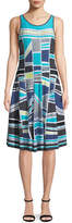 Nic+Zoe Going Places Sleeveless Twirl Dress, Plus Size