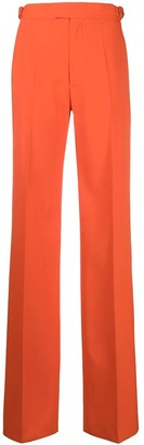 ATTICO Orange High-waisted Pants