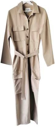 BEIGE The Frankie Shop Cotton Jumpsuits