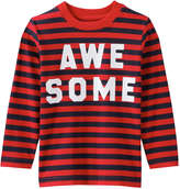 Joe Fresh Toddler Boys' Text Graphic Tee, Red (Size 5)