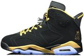 Jpra Air 6 Retro Mens OVO Black-Gold Basketball Shoes