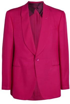 Ralph Lauren Silk Tuxedo Jacket