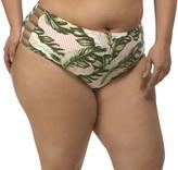 Lysa LYSA Green Mid-Rise Swim Bottom Plus Size - Stacey