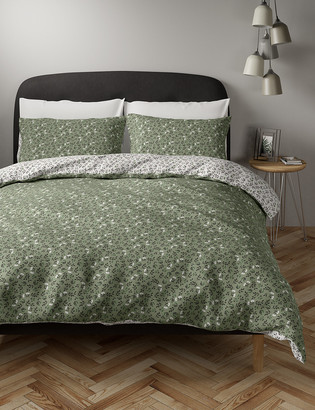 Marks and Spencer Cotton Mix Ditsy Floral Bedding Set